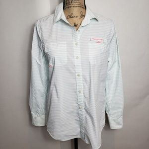 Vineyard vines performance button down size 2